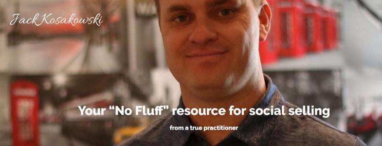 jack kosakowski banner image Your no fluff resource for social selling