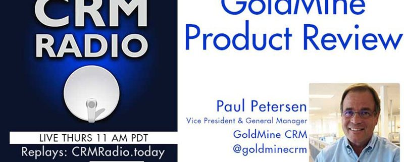 crm radio podcast with Paul Petersen