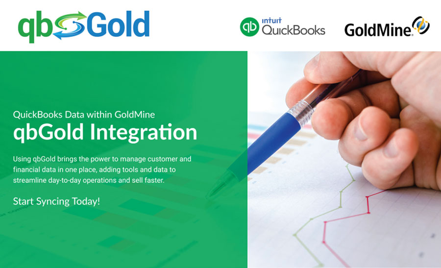 qbGold integration with GoldMine