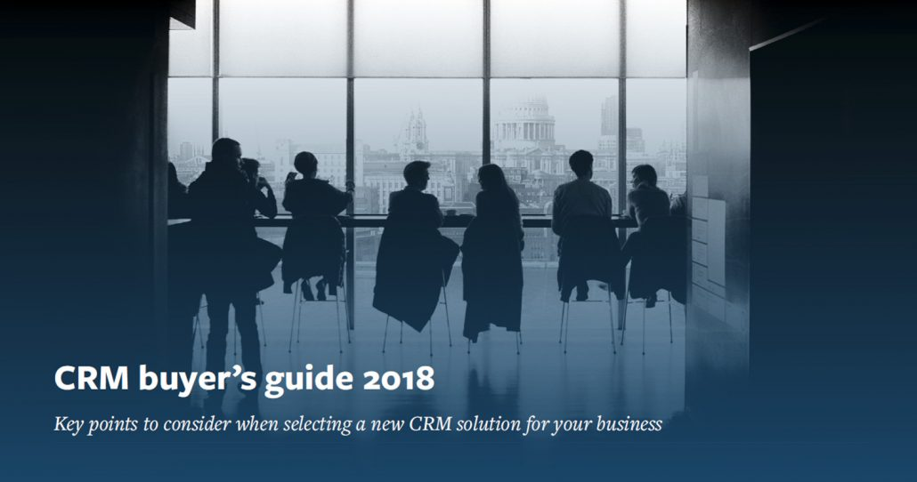 crm buyers guide