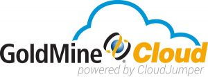 GoldMine Cloud Powered by CloudJumper logo