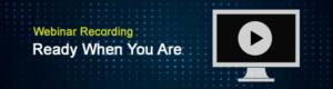 Webinar recording banner